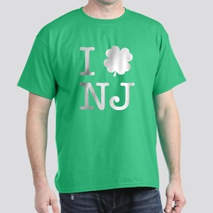 I Shamrock NJ Dark T-Shirt