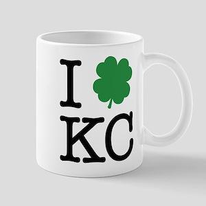 I Shamrock KC Mug