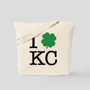 I Shamrock KC Tote Bag