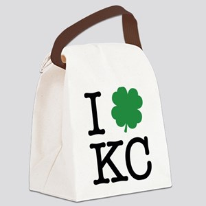 I Shamrock KC Canvas Lunch Bag