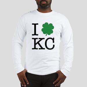 I Shamrock KC Long Sleeve T-Shirt