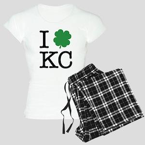 I Shamrock KC Women's Light Pajamas