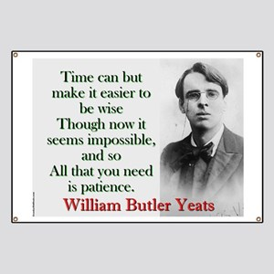 Time Can Make It Easier - Yeats Banner