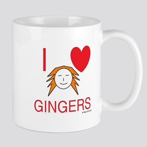 ginger love Small Mug