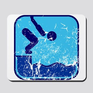 Schwimmen (used) Mousepad