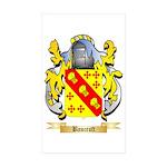 Bancroft Sticker (Rectangle 10 pk)