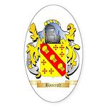 Bancroft Sticker (Oval 10 pk)