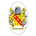 Bancroft Sticker (Oval 50 pk)