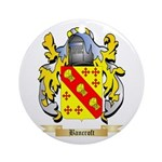 Bancroft Ornament (Round)