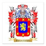 Banaszkiewicz Square Car Magnet 3