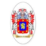 Banaszkiewicz Sticker (Oval)