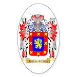 Banaszkiewicz Sticker (Oval 50 pk)