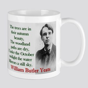 The Trees Are In Their Autumn Beauty - Yeats 11 oz