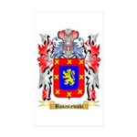 Banaszewski Sticker (Rectangle 50 pk)