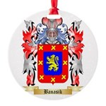 Banasik Round Ornament