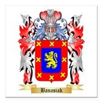 Banasiak Square Car Magnet 3