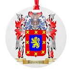 Banasevich Round Ornament