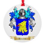 Banares Round Ornament