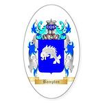 Bampton Sticker (Oval 50 pk)