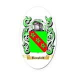 Bampfield Oval Car Magnet