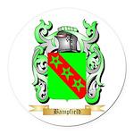 Bampfield Round Car Magnet
