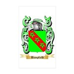 Bampfield Sticker (Rectangle 50 pk)