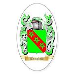 Bampfield Sticker (Oval)