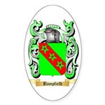 Bampfield Sticker (Oval 50 pk)