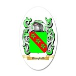 Bampfield 20x12 Oval Wall Decal