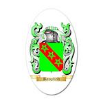 Bampfield 35x21 Oval Wall Decal