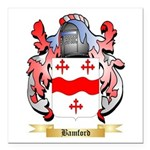 Bamford Square Car Magnet 3