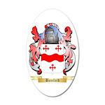 Bamford 20x12 Oval Wall Decal