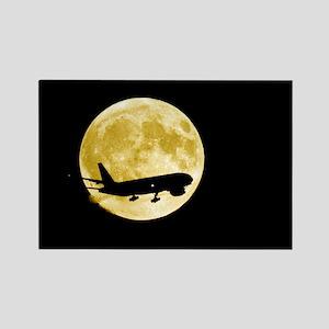 gainst a full moon - Rectangle Magnet (10 pk)