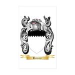Bames Sticker (Rectangle 50 pk)