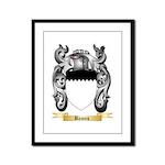 Bames Framed Panel Print