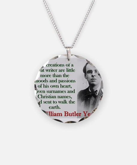 The Creations Of A Great Writer - Yeats Necklace