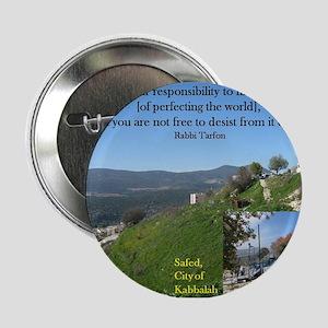 """Tikkun Olam -- Repair the World 2.25"""" Button"""