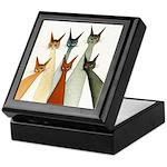 Seville Whimsical Cats Keepsake Box