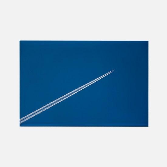 Aeroplane pollution - Rectangle Magnet (10 pk)