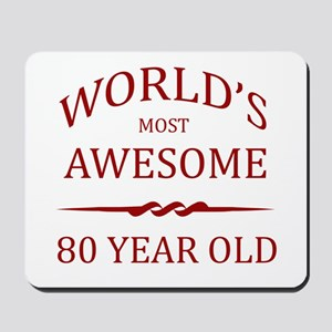 World's Most Awesome 80 Year Old Mousepad