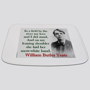 In A Field By The River - Yeats Bathmat
