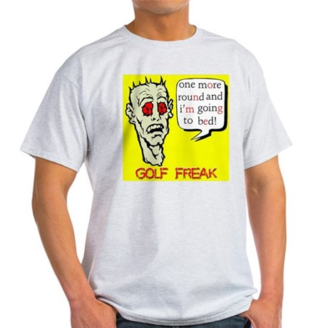 Golf Freak Ash Grey T-Shirt