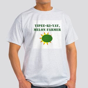 Yipee-ki-yay, Melon Farmer - Lime T-Shirt