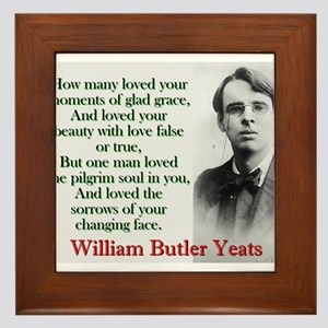 How Many Loved Your Moments Of Sad Grace - Yeats F