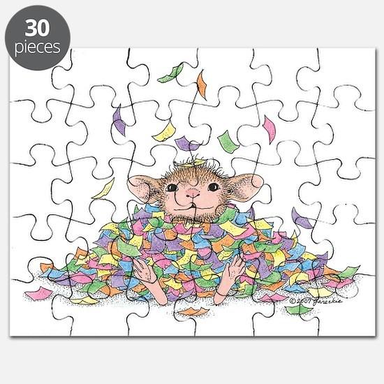 Raining Confetti Puzzle