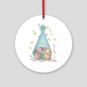 Surprise Party Ornament (Round)