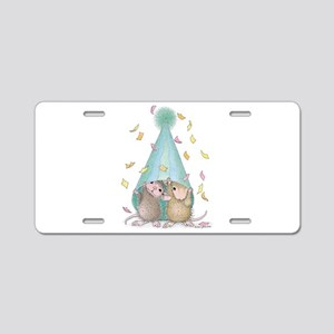 Surprise Party Aluminum License Plate
