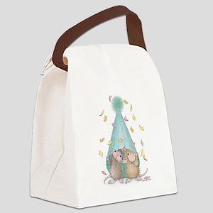 Surprise Party Canvas Lunch Bag