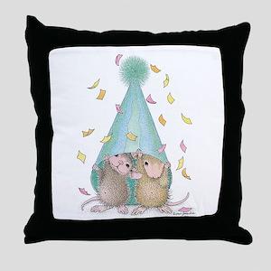 Surprise Party Throw Pillow