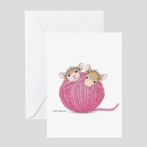 Close Knit Friendship Greeting Card